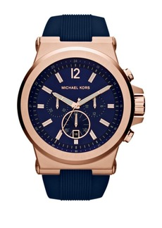 Michael Kors Rose Goldtone Dylan Chronograph Watch