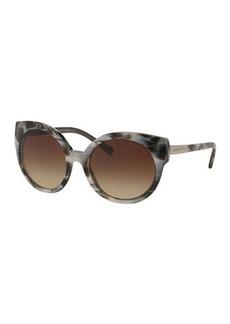 Michael Kors Round Cat-Eye Sunglasses