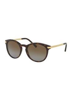 Michael Kors Rounded Square Gradient Sunglasses