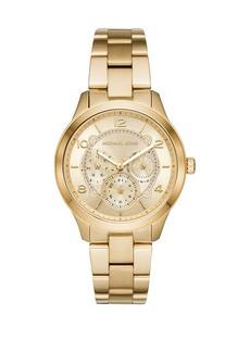 Michael Kors Runway Chronograph Stainless Steel Bracelet Watch