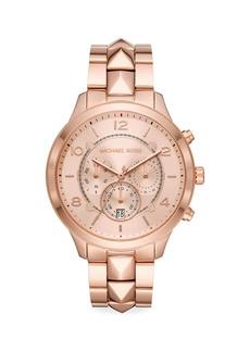 Michael Kors Runway Mercer Stainless Steel Chronograph Watch