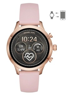 Michael Kors Runway Silicone Touchscreen Strap Smart Watch