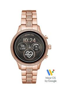 Michael Kors Runway Stainless Steel Touchscreen Smart Watch