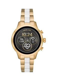 Michael Kors Runway Stainless Steel Two-Tone Touchscreen Smart Watch