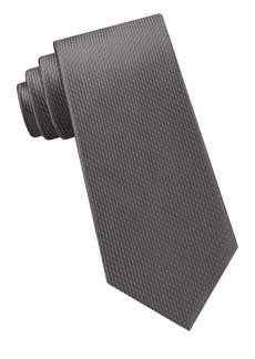Michael Kors Satin Micro Pindot Silk Tie