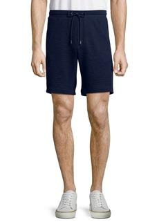 Michael Kors Seersucker Drawstring Shorts