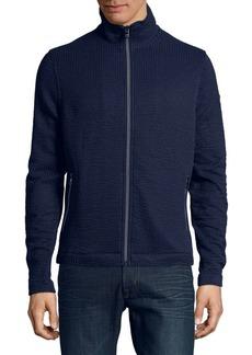 Michael Kors Seersucker Track Jacket