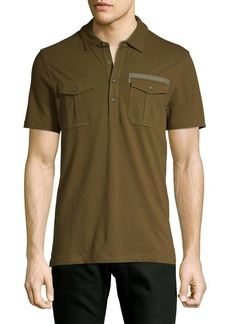 Michael Kors Short-Sleeve Stretch Polo