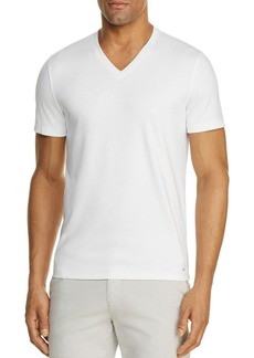 Michael Kors Sleek V-Neck Tee