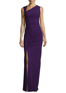 Michael Kors Sleeveless Asymmetric Tank Gown