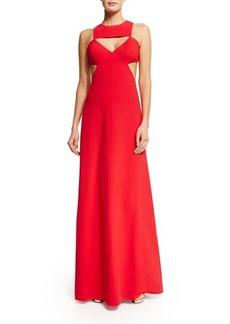 Michael Kors Sleeveless Cutout Gown