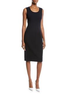 Michael Kors Collection Sleeveless Knit Sheath Dress