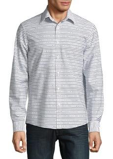Michael Kors Slim Broken String Shirt