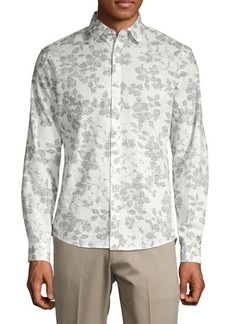 Michael Kors Slim-Fit Everest Floral Shirt