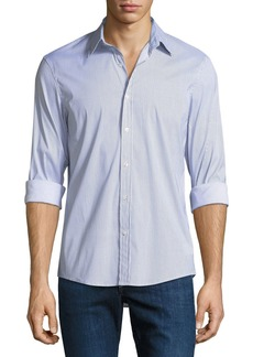 Michael Kors Slim-Fit Printed Shirt