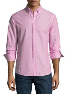 Michael Kors Slim-Fit Seersucker Sport Shirt