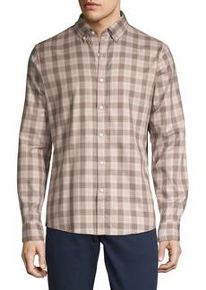 Michael Kors Slim-Fit Toby Checkered Shirt