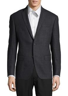Michael Kors Slim-Fit Wool-Blend Blazer