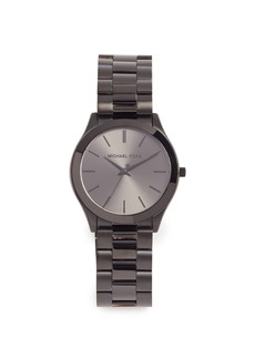 Michael Kors Slim Runway Black Watch, 44mm