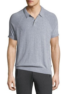 Michael Kors Solid Knit Polo Shirt