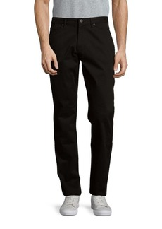 Michael Kors Solid Tailored-Fit Jeans
