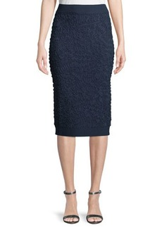 Michael Kors Collection Soutache Pull-On Pencil Skirt
