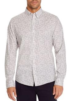 Michael Kors Splatter Flora Slim Fit Button-Down Shirt