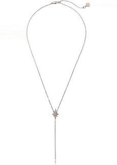 Michael Kors Starburst Pave Y Necklace
