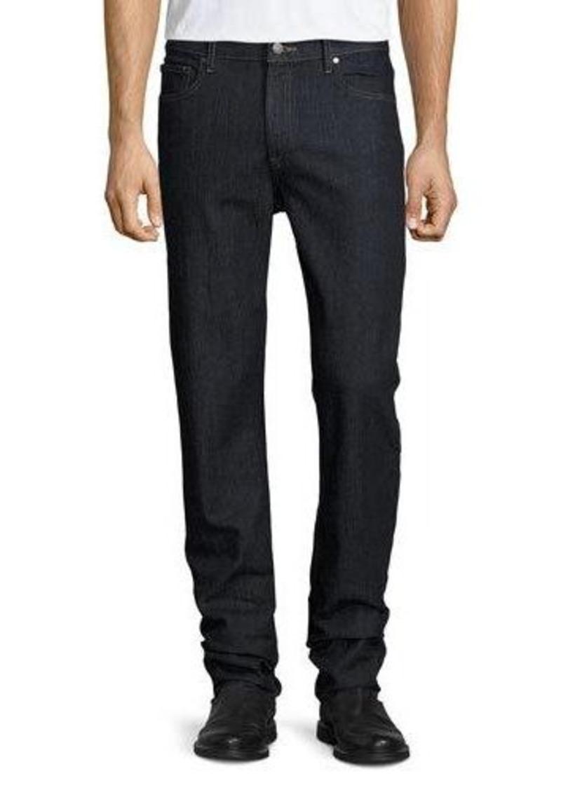 Michael Kors Straight-Leg Dark Wash Jeans