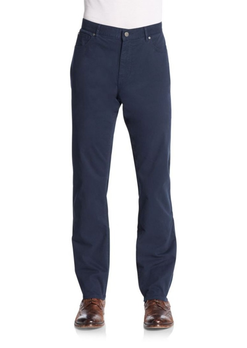 Michael Kors Stretch Cotton Twill Pants