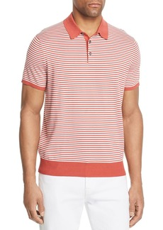 Michael Kors Striped Banded Polo Shirt - 100% Exclusive