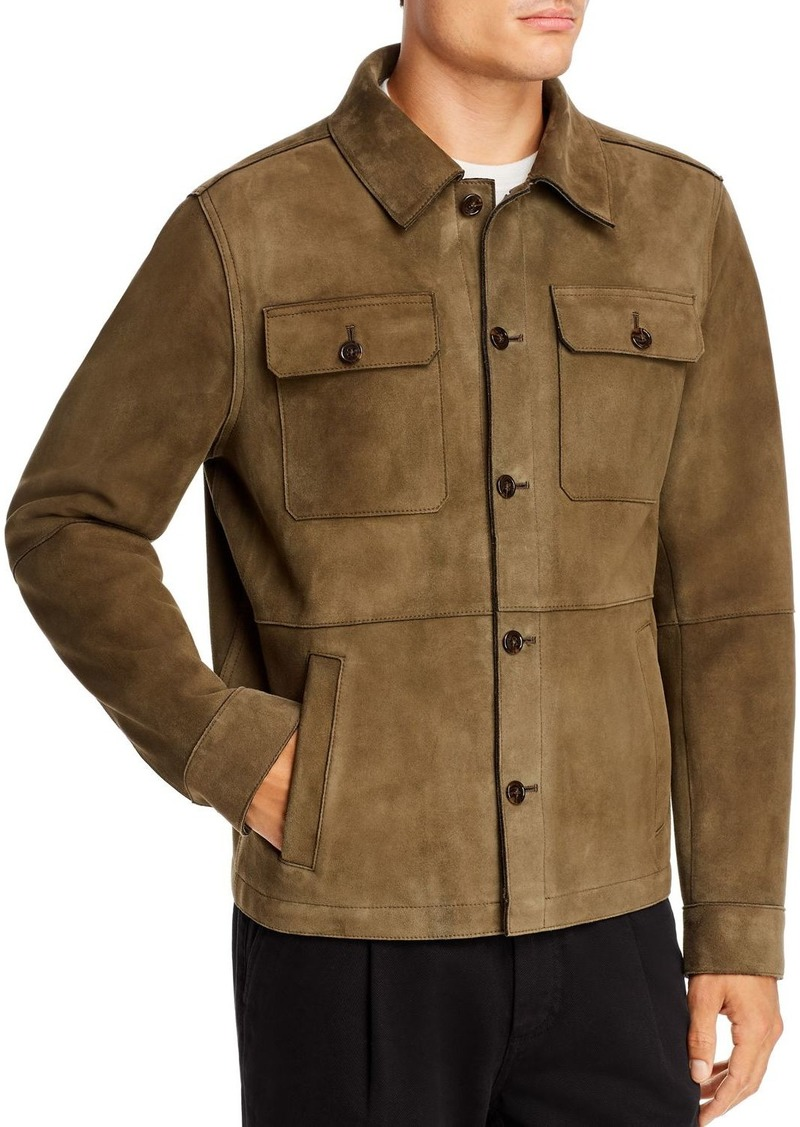 Michael Kors Suede Shirt Jacket - 100% Exclusive