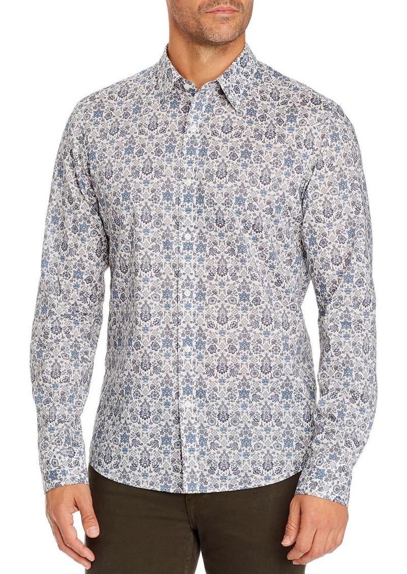 Michael Kors Tana Lawn Floral Slim Fit Shirt