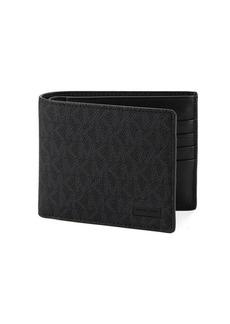 Michael Kors Textured Bi-Fold Wallet