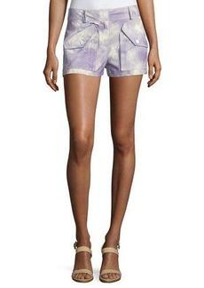Michael Kors Tie-Dye Cargo Shorts
