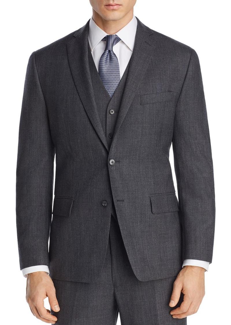 Michael Kors Tonal Large Plaid Classic Fit Suit Jacket