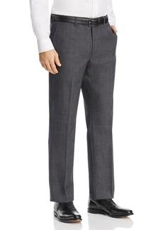 Michael Kors Tonal Large Plaid Classic Fit Suit Pants