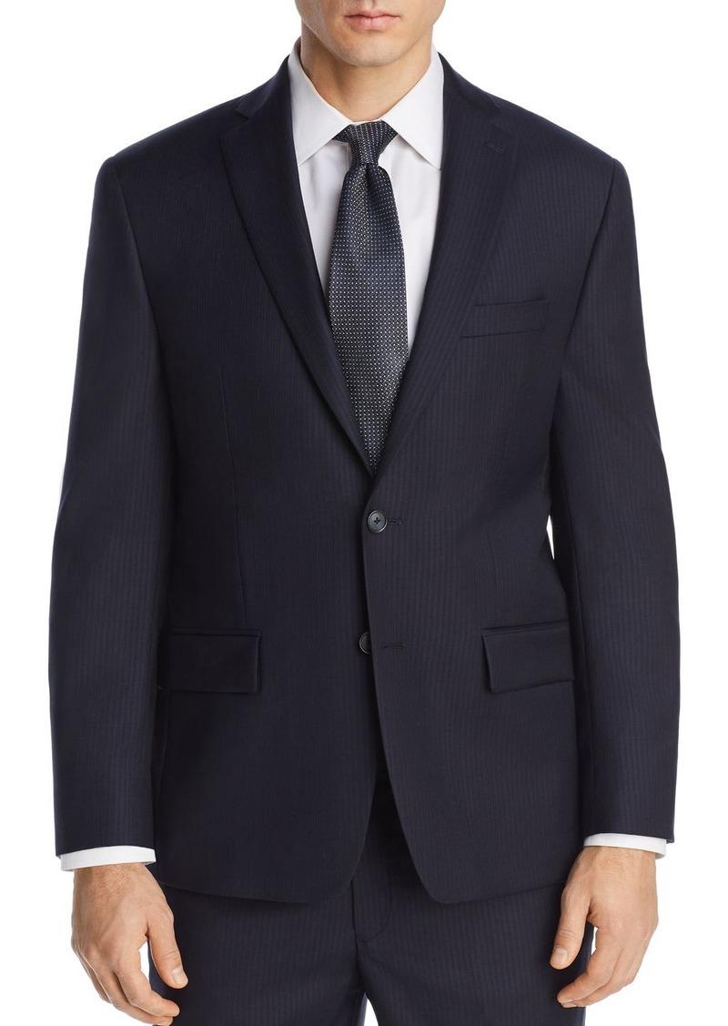 Michael Kors Tonal Pinstripe Classic Fit Suit Jacket