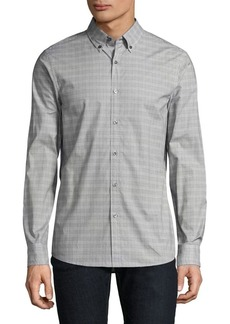 Michael Kors Trim Austin Casual Button-Down Shirt