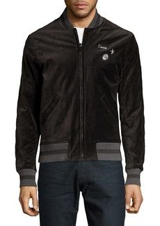 Michael Kors Velvet Bomber Jacket