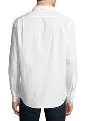Michael Kors Woven Button-Front Shirt