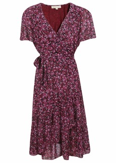 Michael Kors Wrap Butterfly Dress