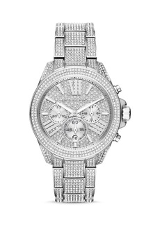 Michael Kors Wren Pav� Chronograph Watch, 41.5mm
