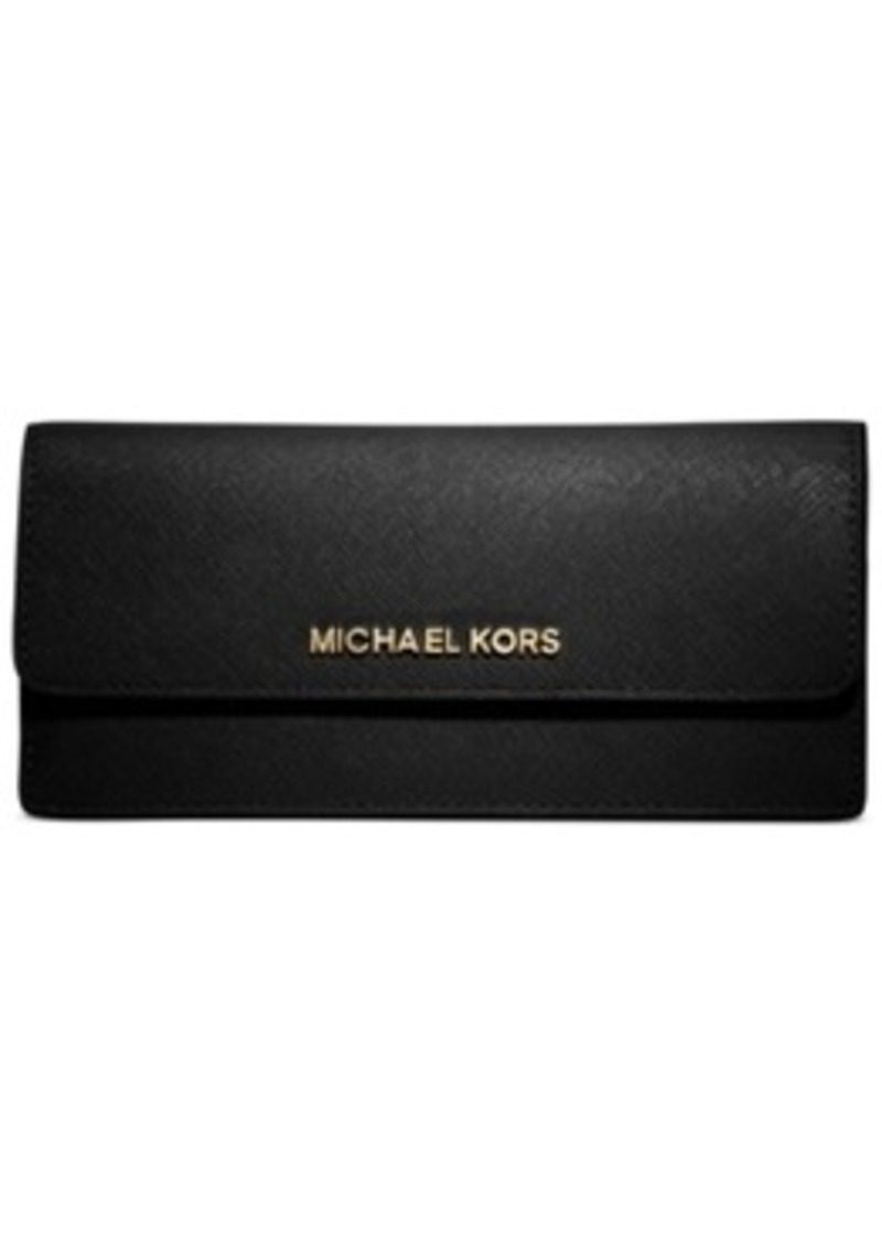 michael kors michael michael kors jet set travel wallet misc accessories shop it to me. Black Bedroom Furniture Sets. Home Design Ideas