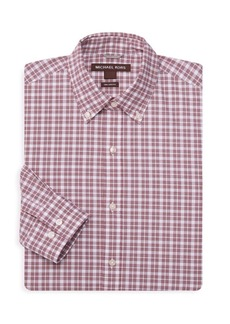 Michael Kors Micro Check Dress Shirt