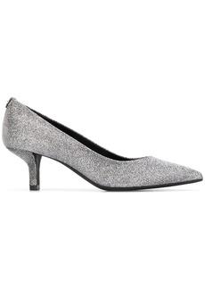 Michael Kors mid-heel glitter pumps