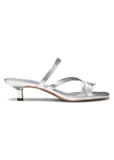 MICHAEL Michael Kors Mid Letty Leather Sandals