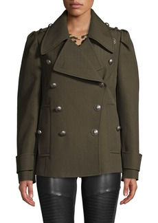 Michael Kors Military Peacoat