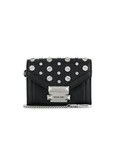 Michael Kors mini embellished clutch-wallet