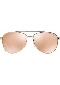 Michael Kors mirrored aviator sunglasses